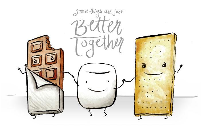 Better Together - Smores