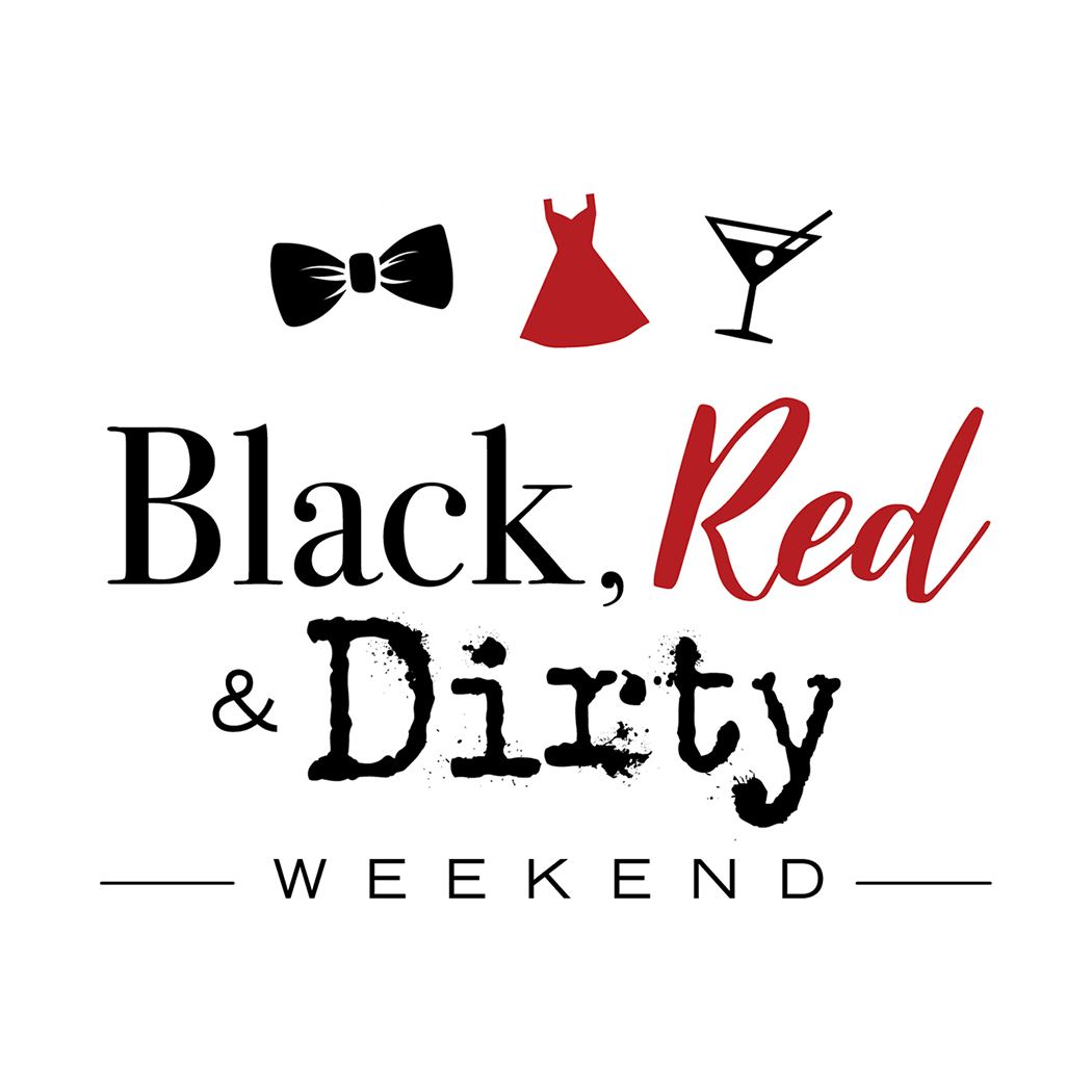 Black Red and Dirty logo