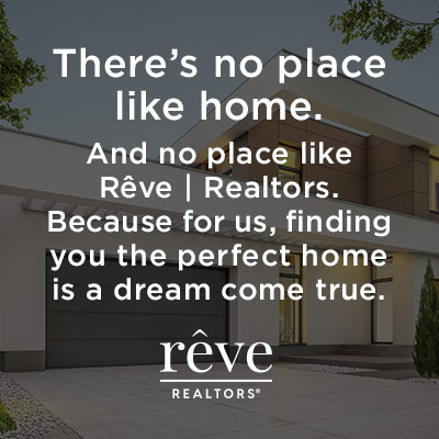 example of social media content produced for Rêve Realtors®