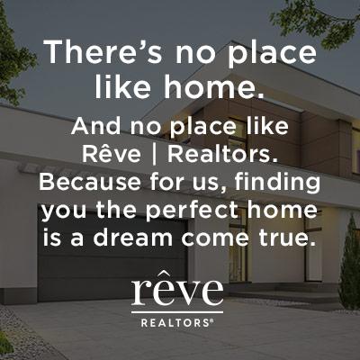example of social media content produced for Rêve Realtors®