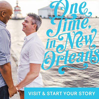 display ad built for an LGBT tourism marketing campaign