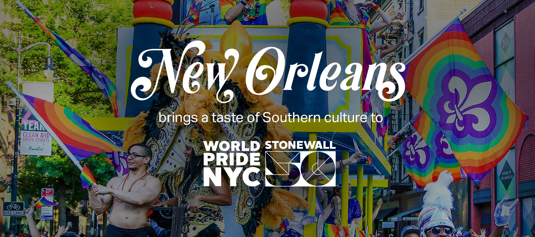 New Orleans brings a taste of Southern culture to World Pride NYC