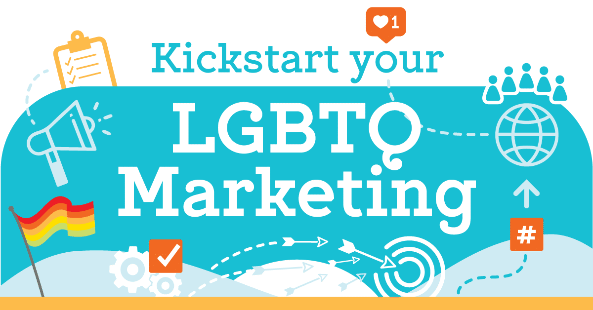 LGBTQ Marketing Infographic Illustration
