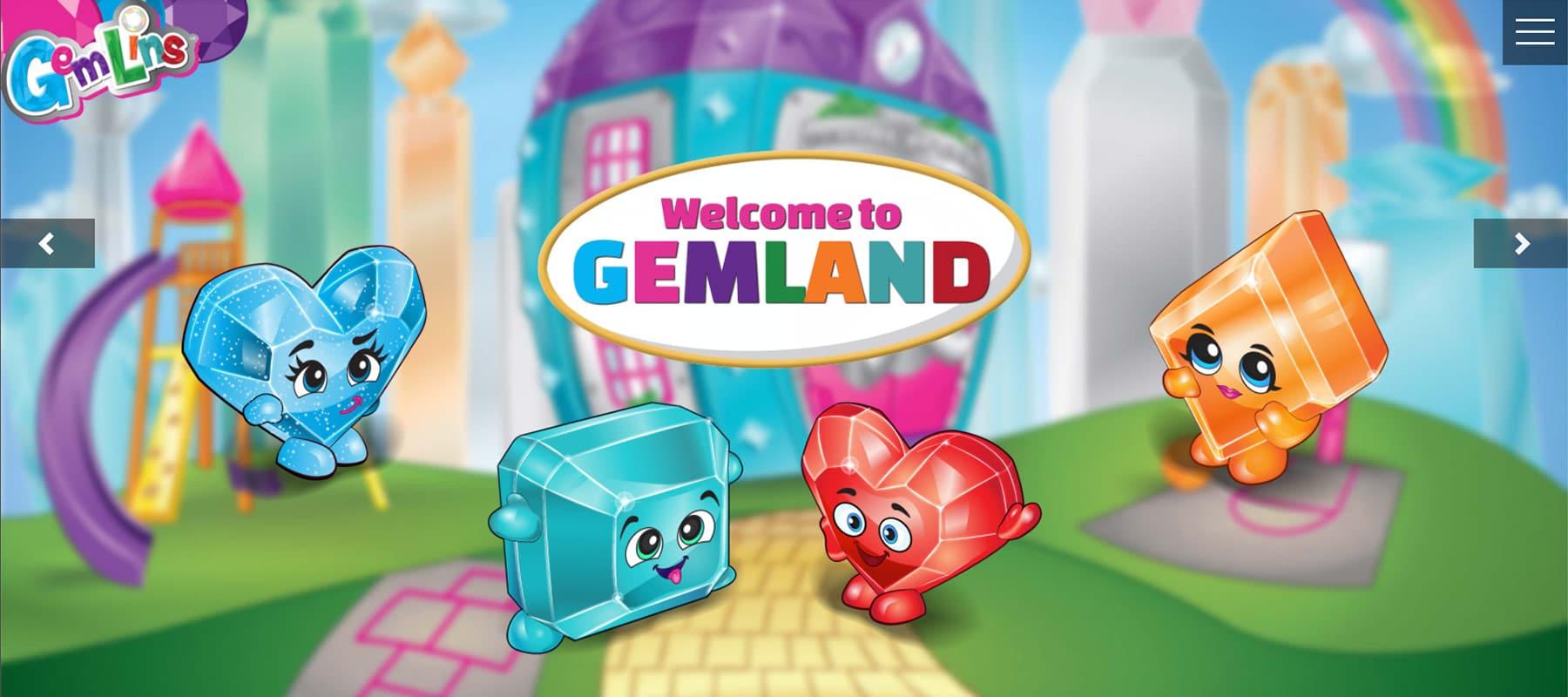 Gemlins Website For Kids and Parents