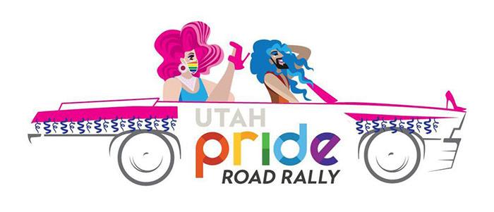 Visit Salt Lake - LGBTQ Utah Pride Road Rally logo
